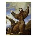 St Francis de Assisi 1642 Postales