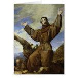 St Francis de Assisi 1642 Tarjeton