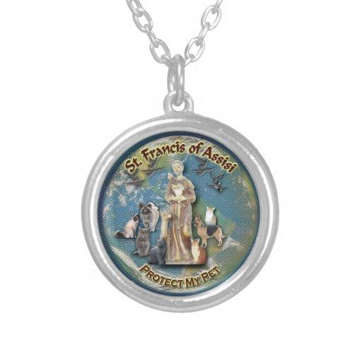 St Francis de Assisi - collar del mascota