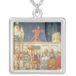 St Francis de Assisi Collar Plateado