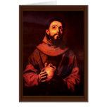 St Francis de Assisi de Ribera José De Tarjeta De Felicitación