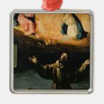 St Francis de Assisi, el milagro de los rosas Adornos