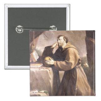 St Francis de Assisi en el rezo Pin