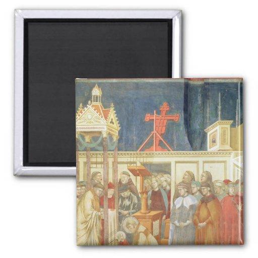 St Francis de Assisi Imán Cuadrado