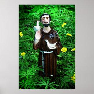 St Francis de Assisi Póster