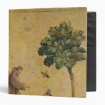 St Francis de Assisi que predica a los pájaros
