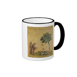 St Francis de Assisi que predica a los pájaros Tazas De Café