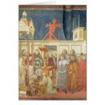St Francis de Assisi Tarjeta De Felicitación