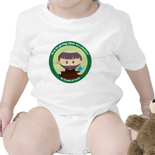 St Francis de Assisi Trajes De Bebé