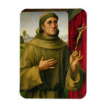 St Francis de Assissi, c.1490 (tempera en el panel Imanes