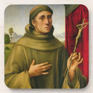 St Francis de Assissi, c.1490 (tempera en el panel Posavasos