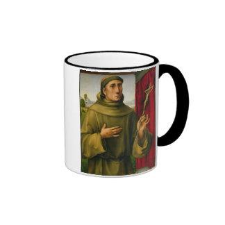 St Francis de Assissi, c.1490 (tempera en el panel Taza De Café