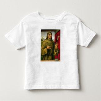 St Francis de Assissi, c.1490 (tempera en el Tee Shirts