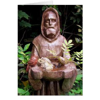 St Francis de la tarjeta de felicitación de Assisi