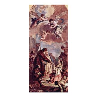 St. Francis De Paula Brought A Dead Child Draft Rack Card Design