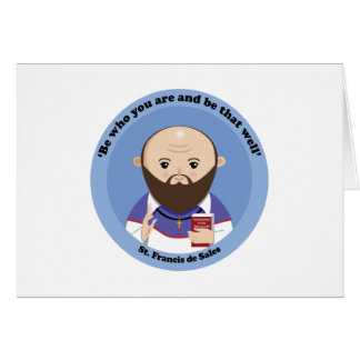 St. Francis de Sales Greeting Cards