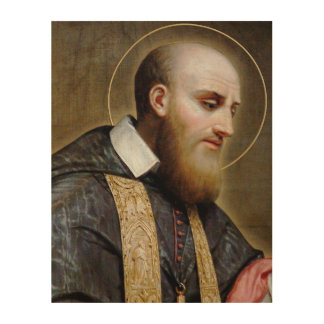 St Francis de Sales Cuadros De Madera