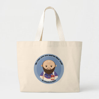 St. Francis de Sales Jumbo Tote Bag