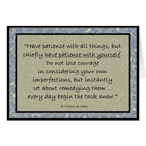 saint francisis desales quote for valentines day - St Francis de Sales quote inspirational card