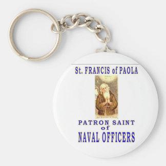 St Francis del PAYOLA Llavero Redondo Tipo Pin