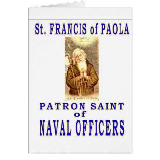 St Francis del PAYOLA Tarjeta De Felicitación