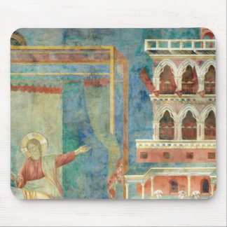 St. Francis Dreams of a Palace full of Weapons Mouse Pad