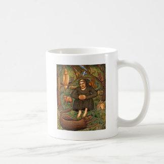St Francis en el regalo del bosque taza del llave