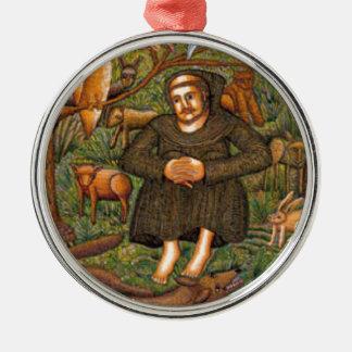 St Francis en el regalo del bosque, taza del llave Ornamento Para Reyes Magos