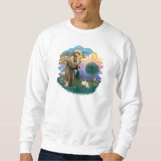 St Francis (ff) - Seal Point Himalayan cat Sweatshirt