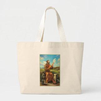 St. Francis Full-color Tee, Tie, Mug, Samsung Case Jumbo Tote Bag