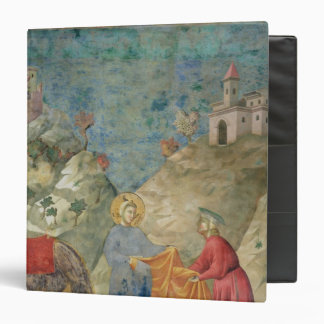 St. Francis Gives his Coat to a Stranger 3 Ring Binder