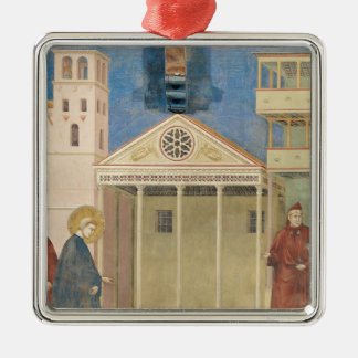 St. Francis Honoured by a Simple Man, 1297-99 Metal Ornament