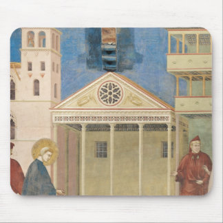 St. Francis Honoured by a Simple Man, 1297-99 Mousepads