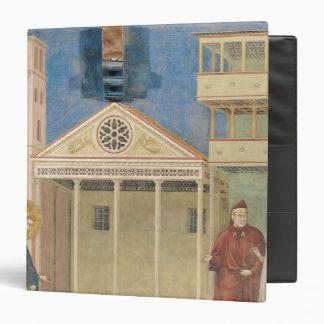"St Francis honró por un hombre simple, 1297-99 Carpeta 1 1/2"""