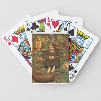 St Francis in the Forest Gift Key Chain Mug More Bicycle Card Deck