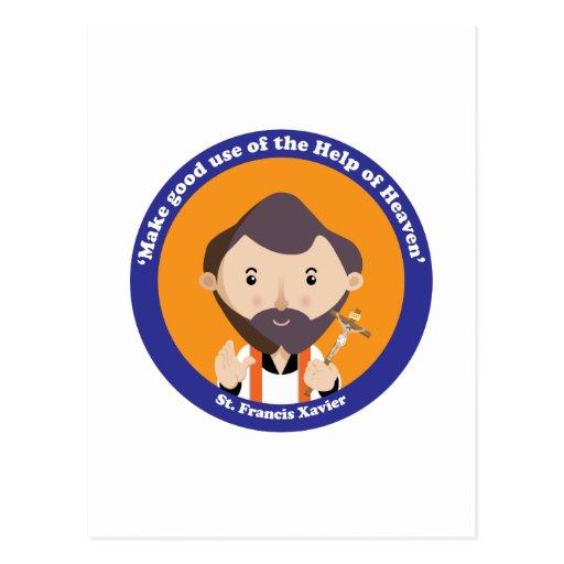 St Francis Javier Tarjeta Postal