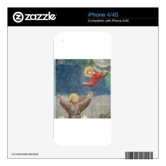 St. Francis Jesus keychain mug ipod ipad cover pet Skins For The iPhone 4