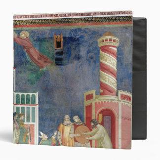 "St Francis lanza al hereje, 1297-99 Carpeta 1 1/2"""