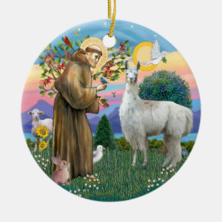 St Francis - Llama 12 Christmas Tree Ornaments