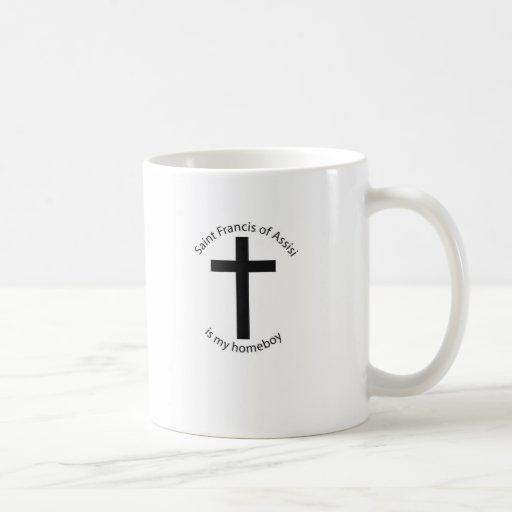 st. francis mug