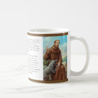 St. Francis Mug w/prayer
