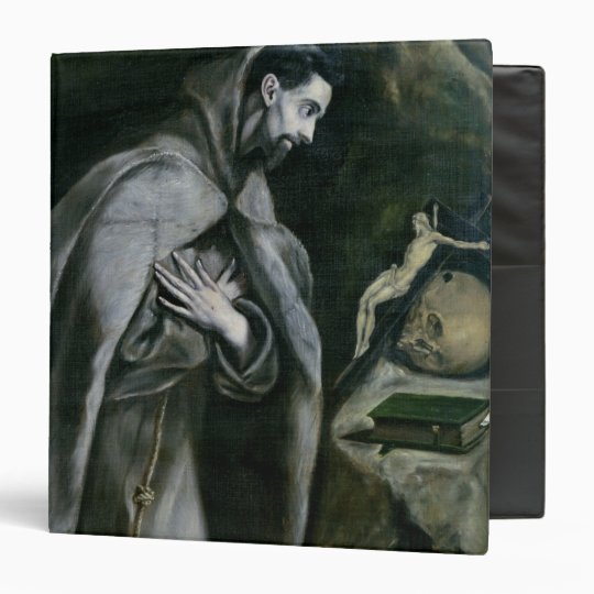St. Francis of Assisi, 1580-95 3 Ring Binder