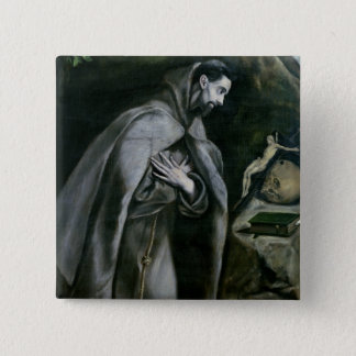 St. Francis of Assisi, 1580-95 Pinback Button