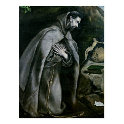 St. Francis of Assisi, 1580-95 Post Cards