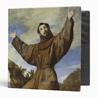 St. Francis of Assisi  1642 3 Ring Binder