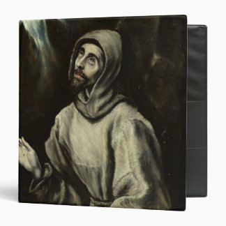 St. Francis of Assisi 3 Ring Binder