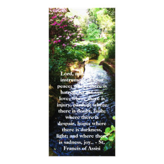 St. Francis of Assisi about FAITH Rack Card