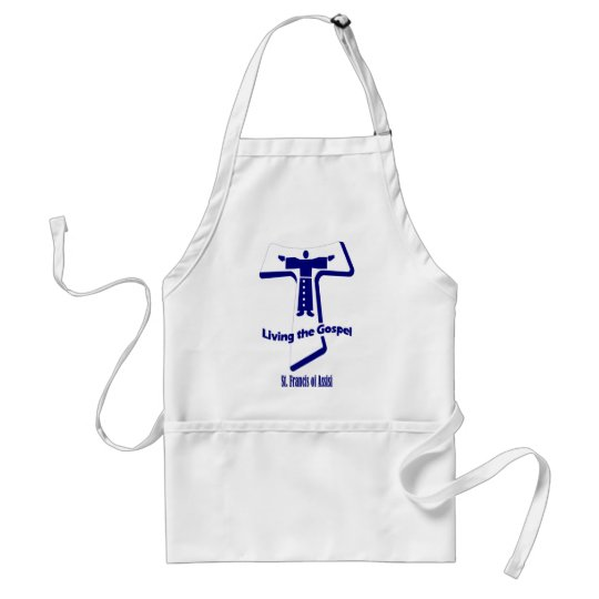 St Francis of Assisi Adult Apron