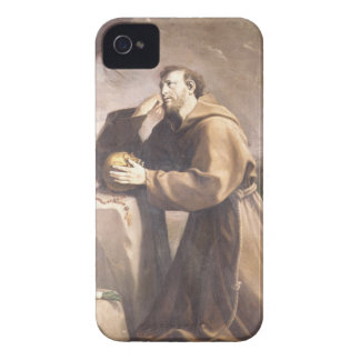 St. Francis of Assisi at Prayer iPhone 4 Case-Mate Cases