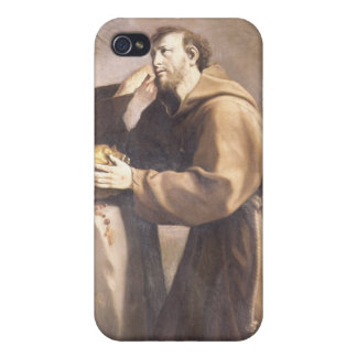 St. Francis of Assisi at Prayer iPhone 4 Covers